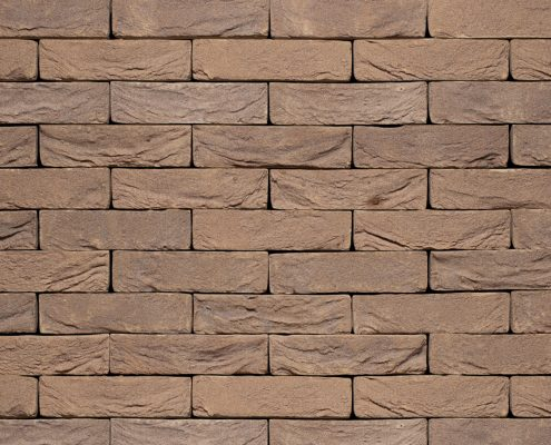 Natural clay brick