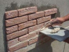 Pointing the Brick Effect Tiles